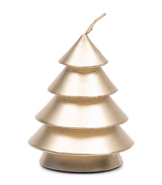 Wonderful Christmas Candle gold