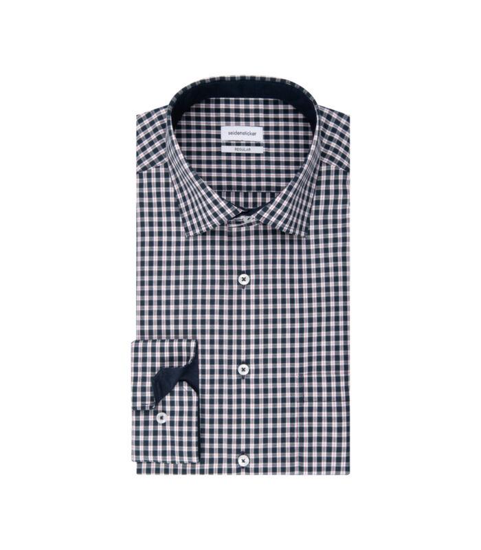 Overhemd Regular Fit Lange mouwen Geruit image number 4
