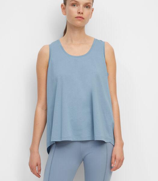 Haut de yoga en jersey de coton biologique léger