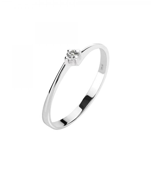 PROMESSE Ring Witgoud 375