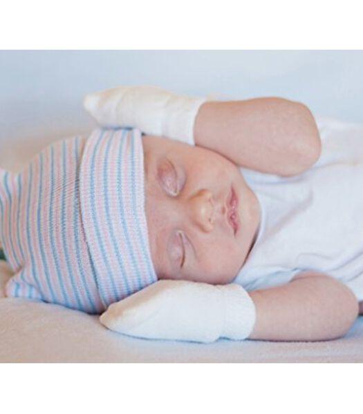 Babywantjes van katoen- anti-krab handschoentjes