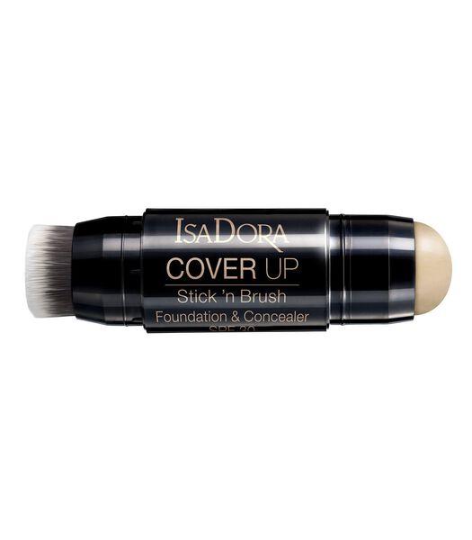 Cover Up Stick´n Brush Foundation & Concealer SPF 30