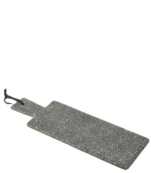 Plank Rechthoek Marmer Grijs
