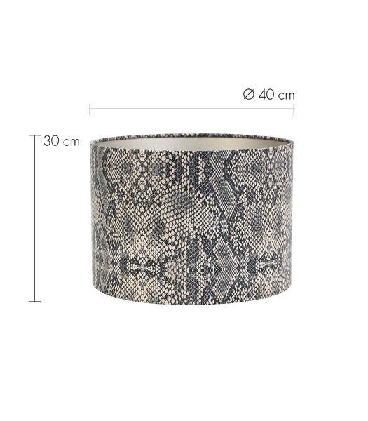 Kap cilinder 40-40-30 cm PYTHON bruin