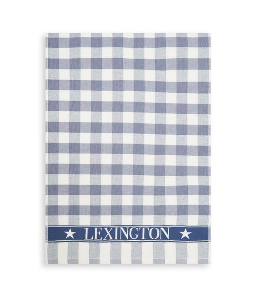 Icons Checked Cotton Terry Kitchen Towel