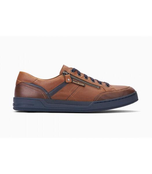 ARNAUD-Sneakers leer