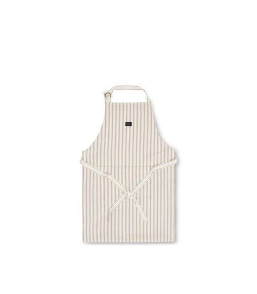 Icons Cotton Herringbone Striped Apron