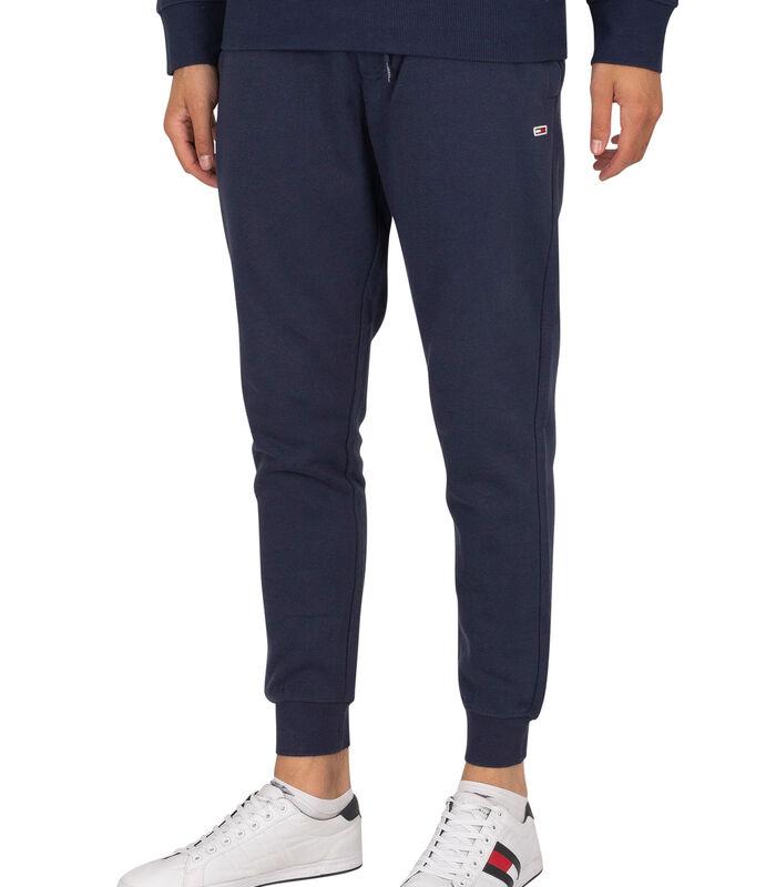 Slanke joggingbroek van fleece image number 0