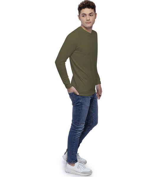 T-shirt col rond manches longues raglan DANY