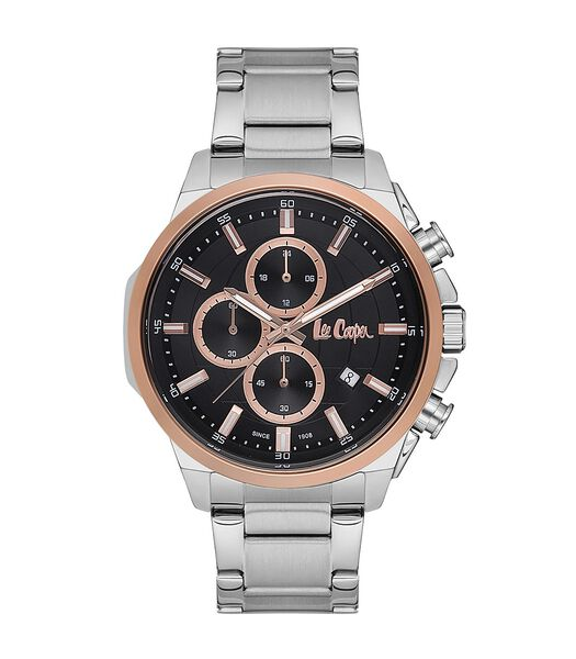 Analoog multifunctioneel horloge metalen armband ELLIOT