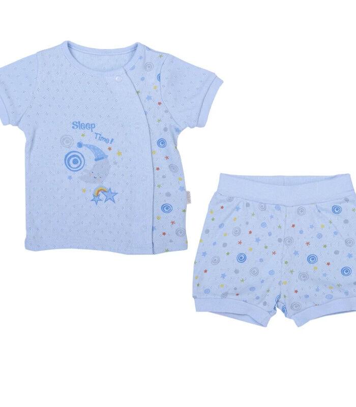 Biologisch katoenen baby t-shirt en broekje set, Dreams image number 0