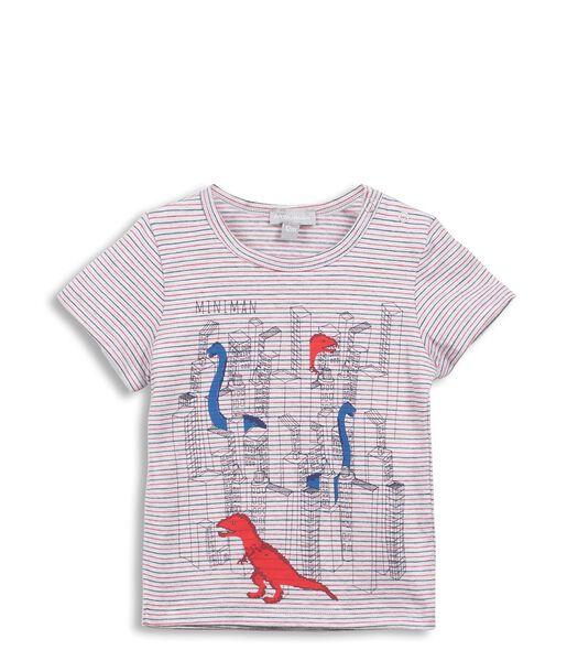 T-Shirt avec Motif Dinosaures