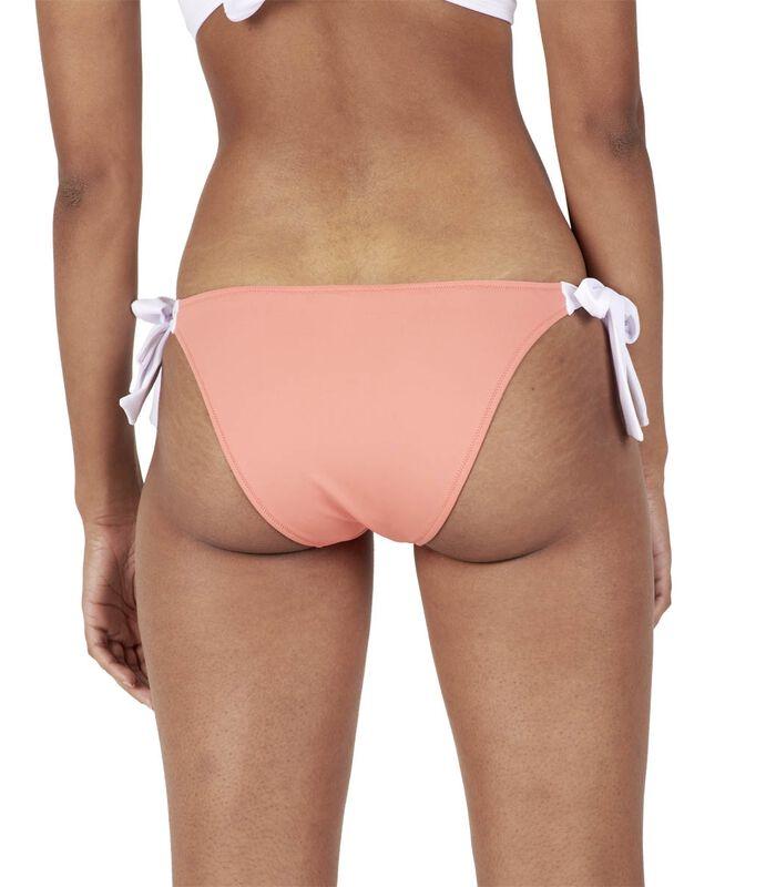 Bikinibroekje effen met strikjes MOLLY image number 1