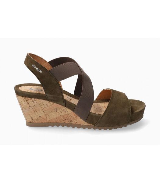 GIULIANA-Sandalen fluweel