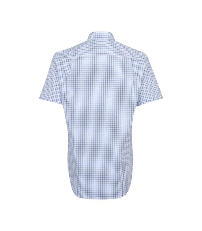 Overhemd Regular Fit Korte mouwen Geruit image number 1