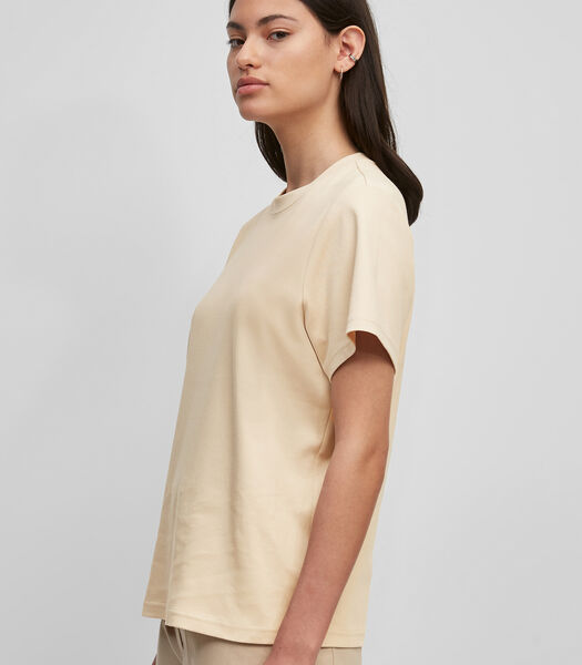 T-shirt van interlock-jersey van organic cotton