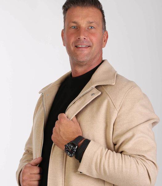 Montre pour homme Pulsar PZ4009X avec bracelet en cuir