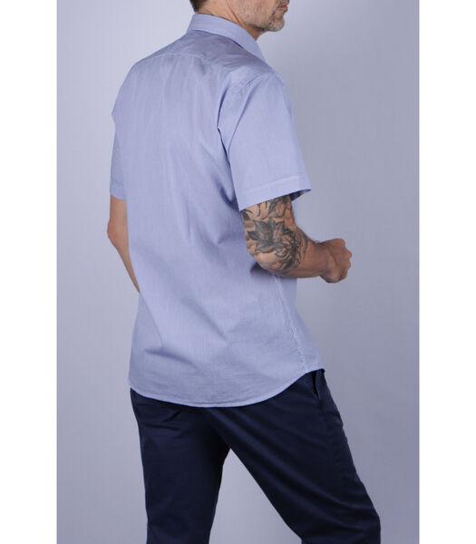 Overhemd katoen franse kraag vichy
