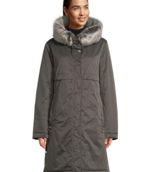 Veste outdoor à capuche