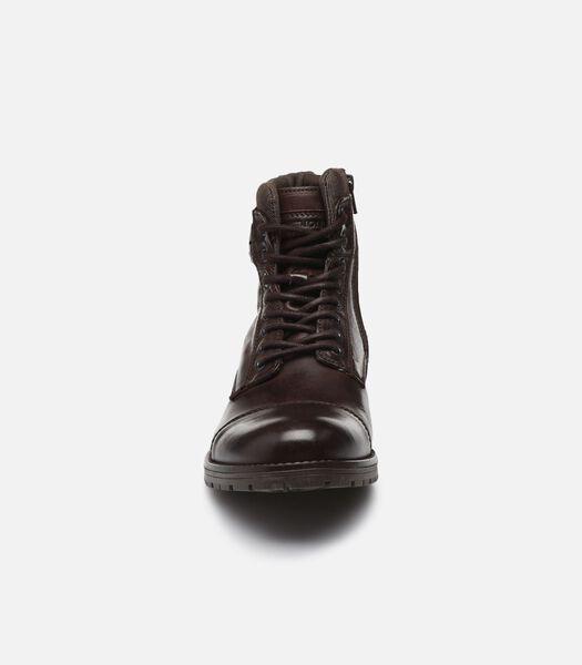 JFW ALBANY LEATHER COFFEE BEAN Boots en enkellaarsjes