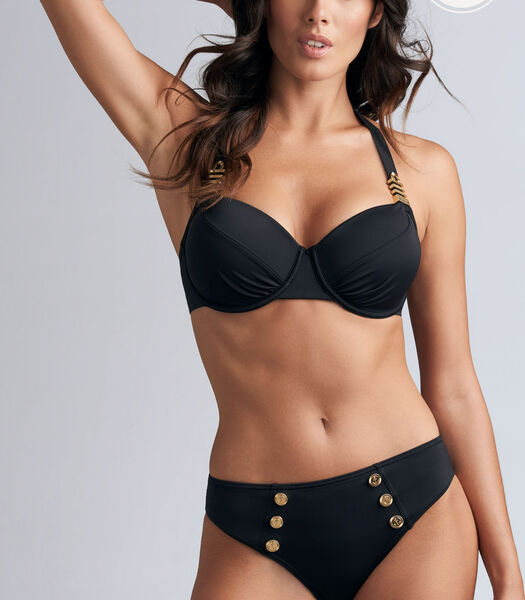 royal navy haut de bikini balconnet plongeant