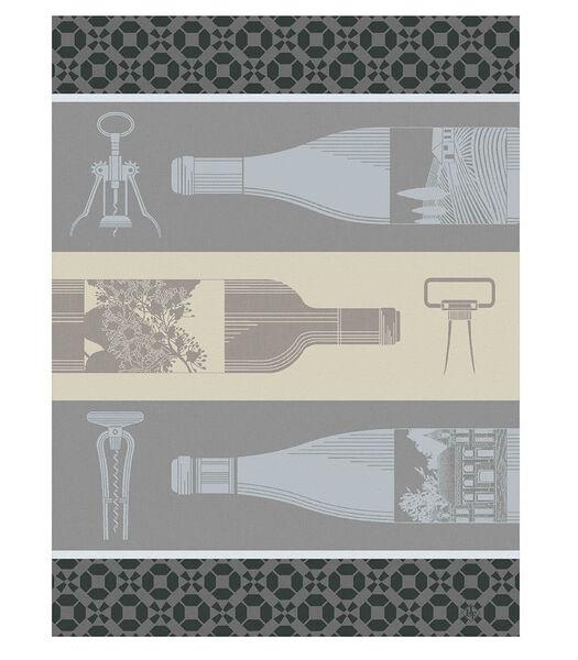 Vin en Bouteille Torchon 60x80