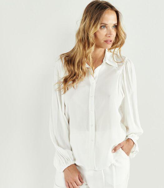 SUSANA overhemd met lange mouwen en Italiaanse kraag