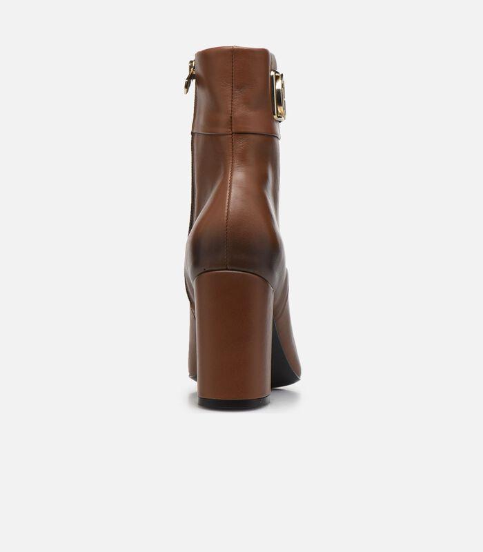 TH HARDWARE SQUARE TOE HEEL BOOT Boots en enkellaarsjes image number 3