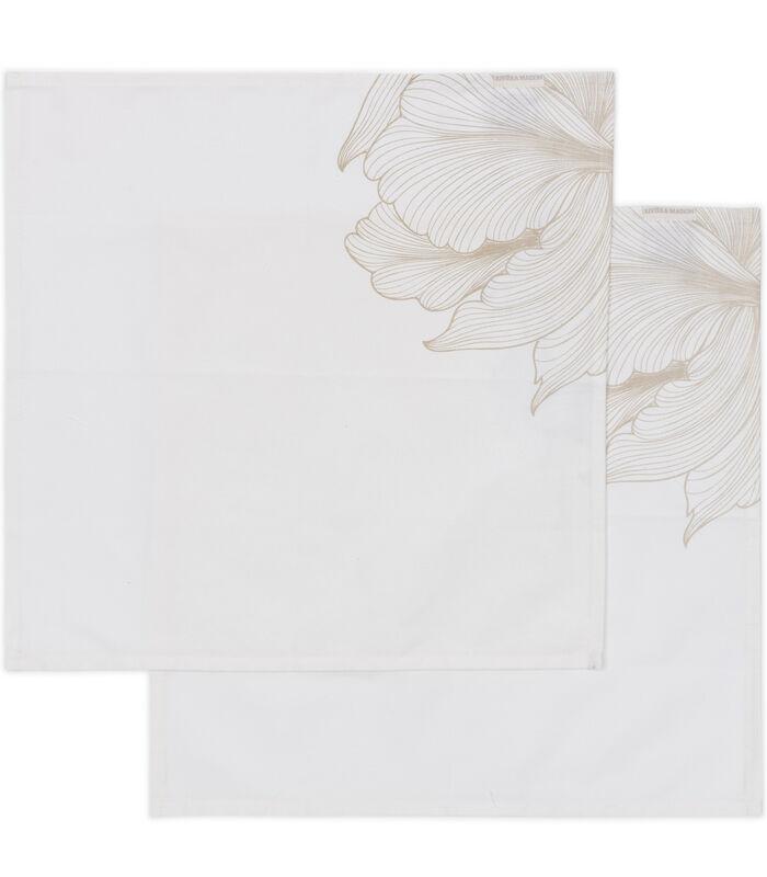 Les Fleurs Napkin 2 pieces image number 0
