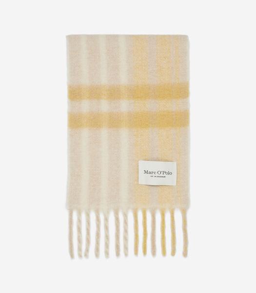 Sjaal van een superzachte mix met alpacawol