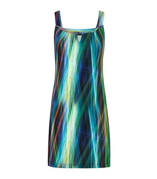 Grafisch bedrukte jersey jurk LILY