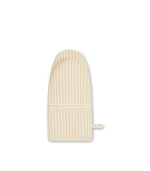 Icons Cotton Herringbone Striped Mitten