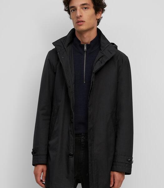 Modular jacket van waterafstotend twill