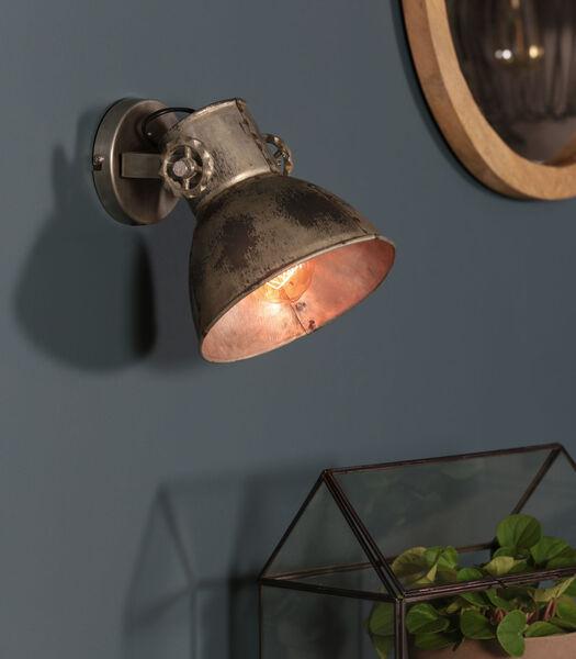 Wandlamp Elay - Vintage Zilver