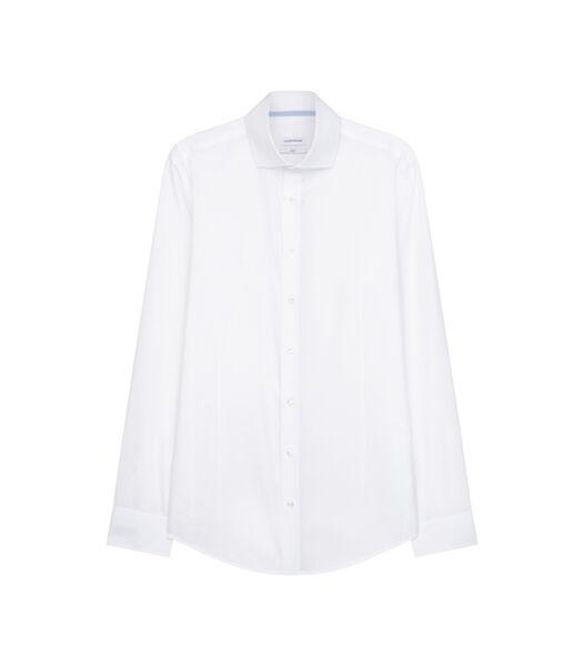 Overhemd Slim Fit Lange mouwen Uni
