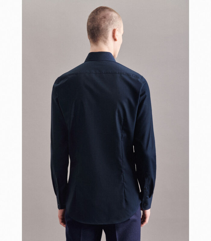 Overhemd Shaped Fit Extra lange mouwen Uni image number 1