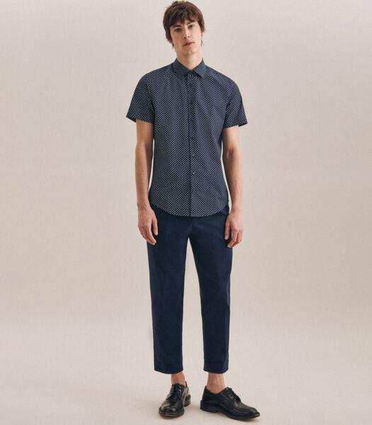 Overhemd Slim Fit Korte mouwen Print