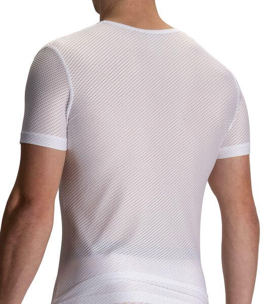 T-shirt met V-hals RED2112