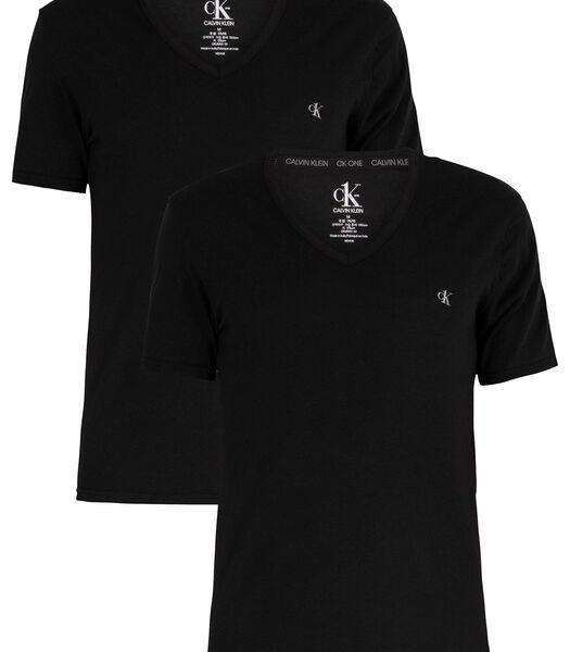 T-shirt 2 pack v-neck ck one