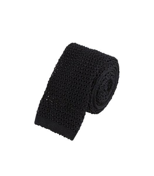 Cravate tricot doux en soie