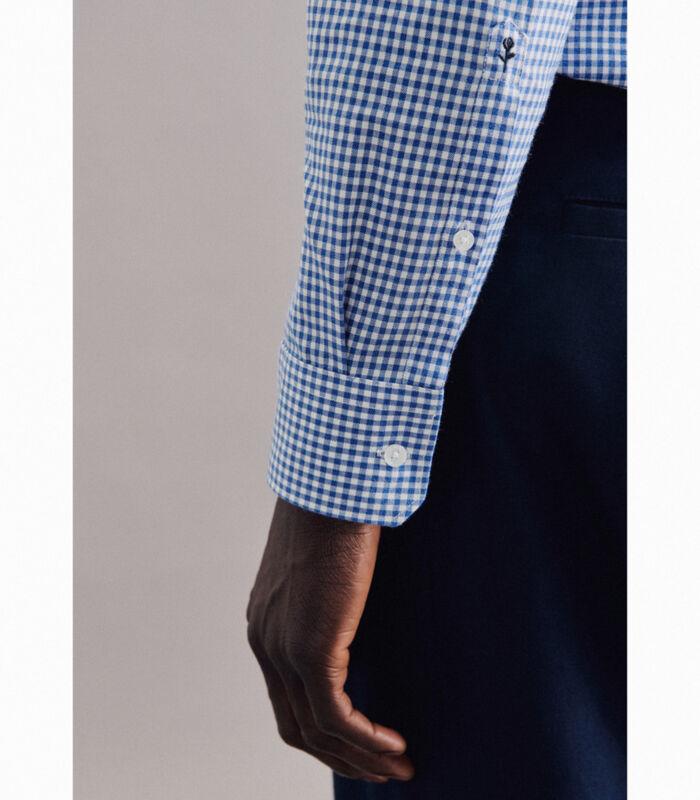 Overhemd Slim Fit Lange mouwen Geruit image number 3