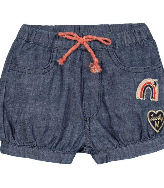 Elastische taille bloomer shorts