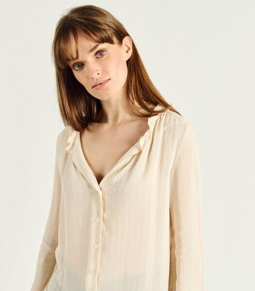 Gestreept shirt lange mouw DANIELA