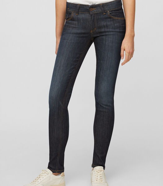 Jeans model SKARA slim met een donkere wassing