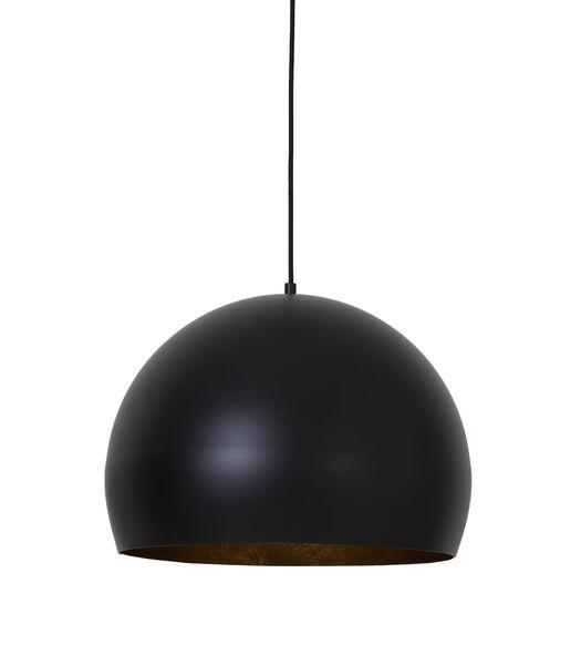 Hanglamp JAICEY - Mat Zwart-Goud - M
