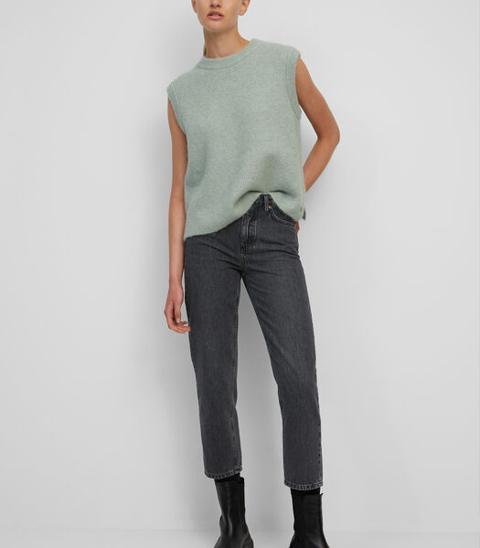 Jeans model TÖRE cropped van organic cotton