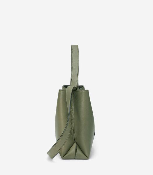 Crossbody bag van Italiaans rundleer
