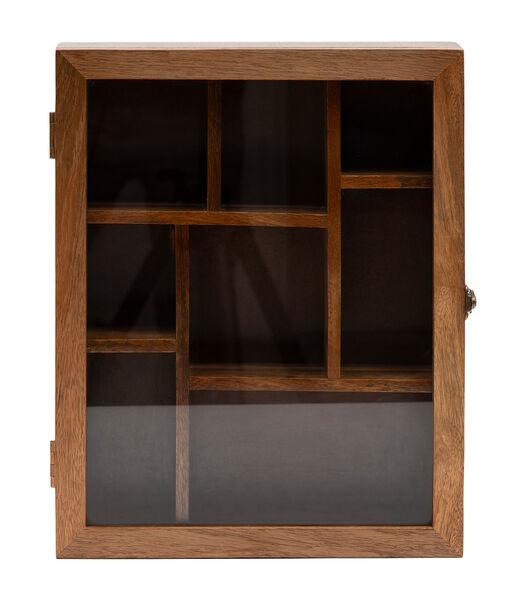 Boîte à souvenirs en bois RM