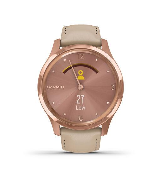 Vivomove Smartwatch beige 010-02241-01