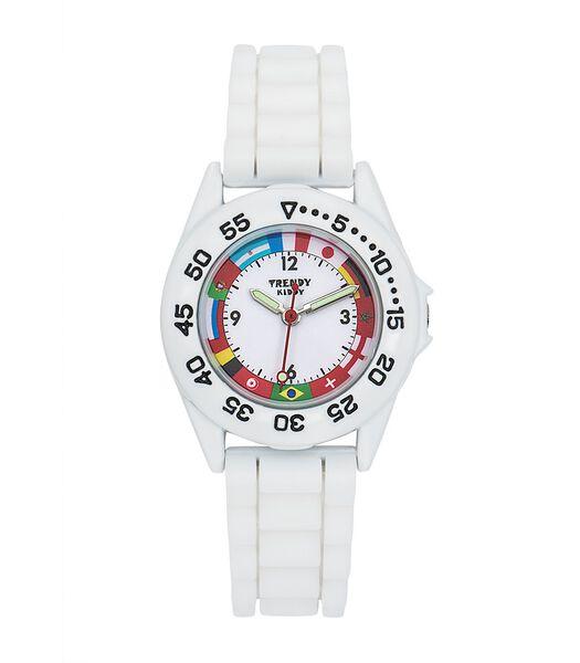 WK-horloge silicone armband